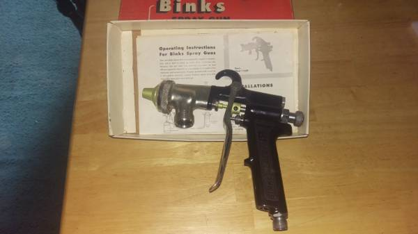 Photo Binks 7E2 spray gun, New In Box - $450 (Fall Branch)