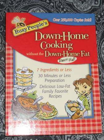 Photo Cookbook - Busy People39s Down-Home Cooking without the Down-Home Fat - $5 (Knoxville)