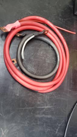 Photo Custom Made 10 GA Battery Cables - $75 (Kodak)