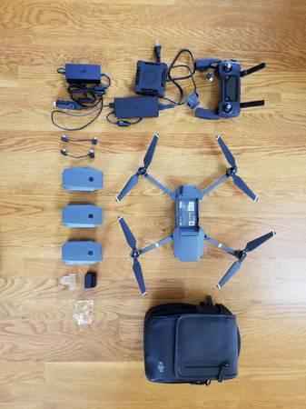 Photo DJI Mavic Pro 4K Drone - $700 (VONORE)