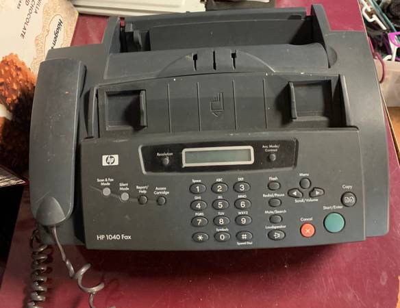 Photo HP 1040 FAX MACHINE - $20 (Knoxville)