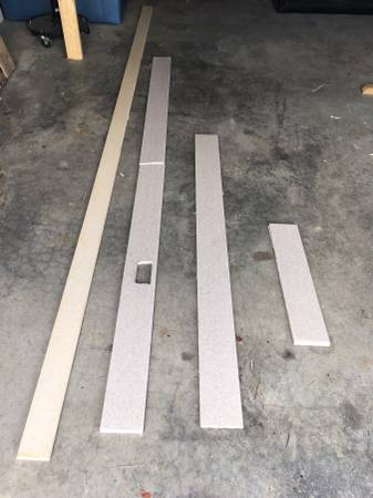 Photo Long Strips of CORIAN for back splash, trim, projects, all for - $25 (West Knoxville)