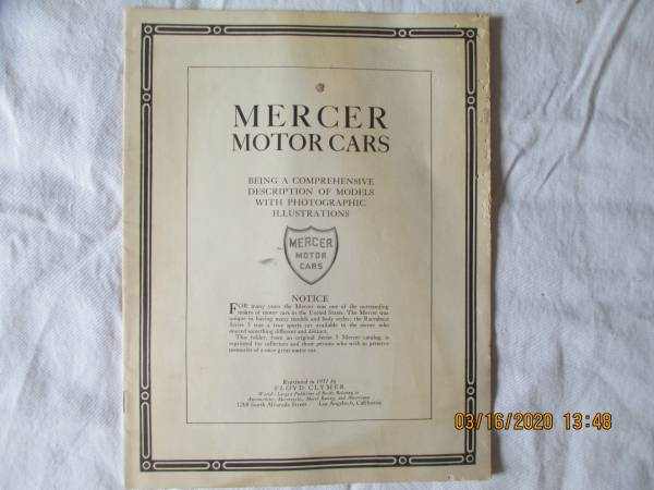 Photo MERCER MOTOR CARS - $3 (WEST KNOXVILLE)