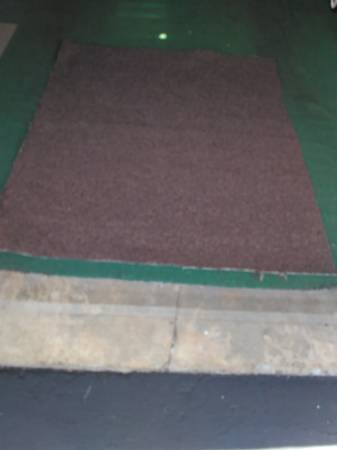 Photo (New) IndoorOutdoor Carpet Remnant 5394quot x 4396quot Brown - $10 (Knoxville)