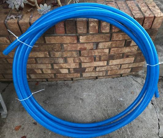 Photo New Uponor Aqua Pex Blue Tubing 1 Inch Outer Diameter 38 ft long - $20 (West Knoxville - Cedar Bluff Area)