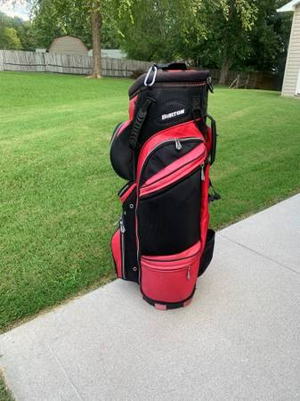 Photo Nice Burton golf bag - $69 (Powell)