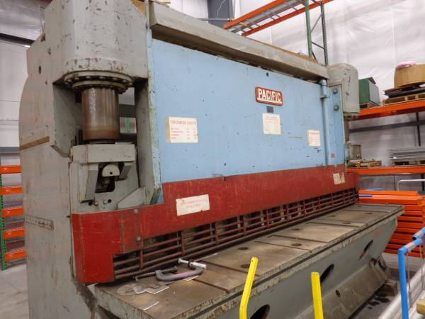 Photo Pacific Hydraulic Shear 12 x 10 ft. - $22,500 (Oak Ridge)