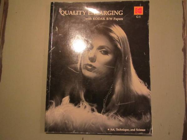 Photo Quality Enlarging with Kodak Black and White Papers - 1982 - $4 (Knoxville)
