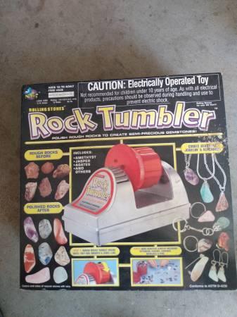 Photo Rock tumbler - $45 (Knoxville)