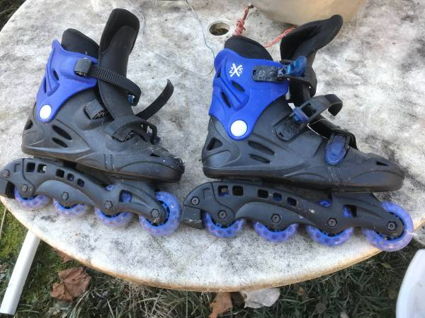 Photo Roller Blades Size 8 - $15 (Powell)