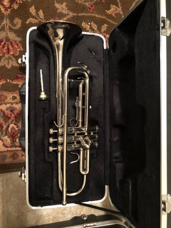 Photo SILVER TRUMPET MILLBROOK W CASE - $375 (WEST KNOXVILLE)