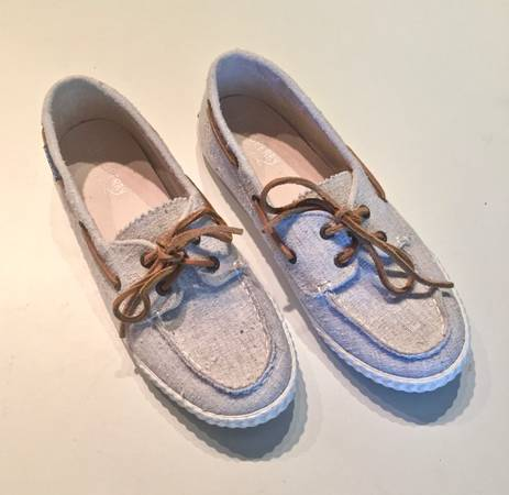 Photo SPERRYS - Womens Tweed Boat Shoes  Size 6M  Near New - $10 (Knoxville)
