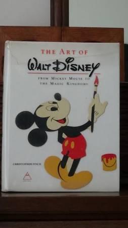 Photo The Art of Walt Disney book - $140 (Dandridge, TN)