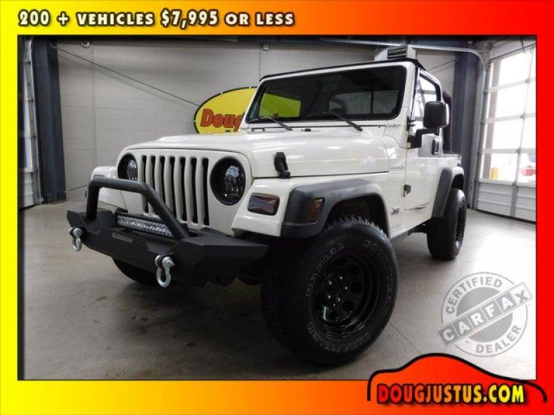 Photo Used 1997 Jeep Wrangler SE for sale