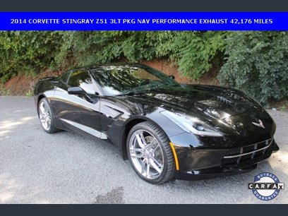 Photo Used 2014 Chevrolet Corvette Stingray Coupe w Z51 3LT for sale