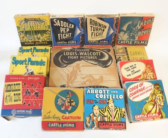 Photo Vintage 16mm Movies Films - Lot of 13 - $75 (LENOIR CITY)
