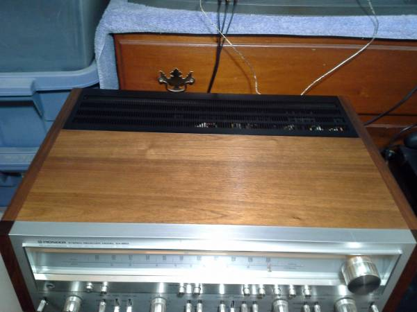 Photo Vintage Pioneer sx-850 stereo receivers - $400 (Newport)