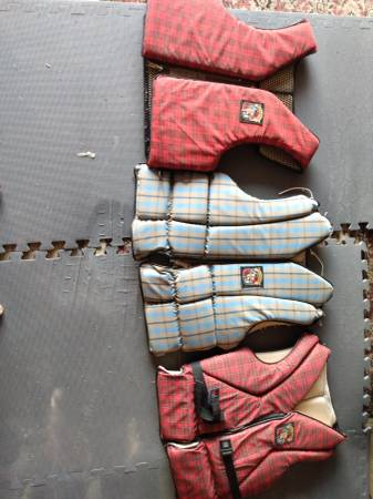 Photo Vintage boat Stearns life jackets - $70