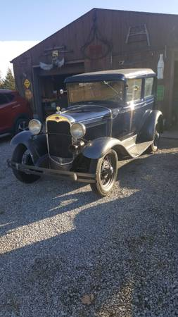 Photo 1930 Model A Ford - $24,950 (Georgetown Indiana)