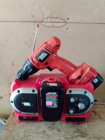 Photo Black and Decker Cordless Tools - $120 (Russiaville)