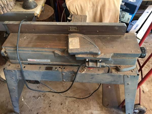 Photo Craftsman Jointer Planer - $250 (FLora)