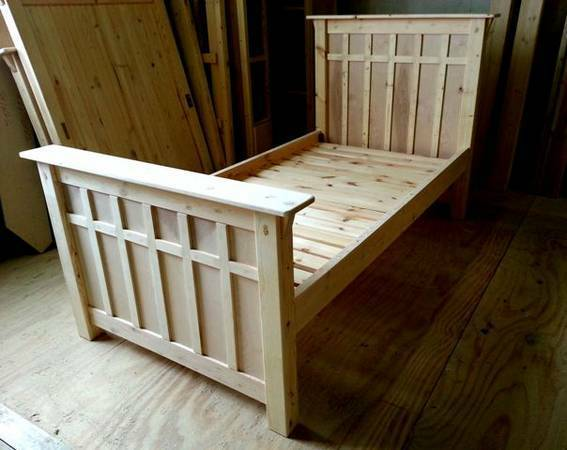 Photo Craftsman King Bed, Queen Bed, Double Bed, Twin Bed (Indianapolis)