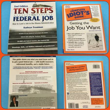 Photo How to get a job - 2 different books - $5 each - $5 (Granger, IN)