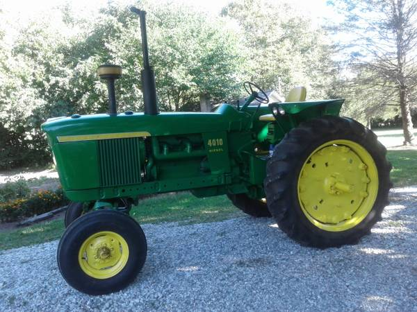 Photo John Deere 4010 Diesel Tractor - $6,500 (Kewanna,Indiana)