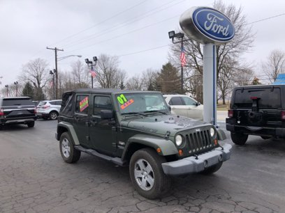 Photo Used 2007 Jeep Wrangler Unlimited Sahara for sale