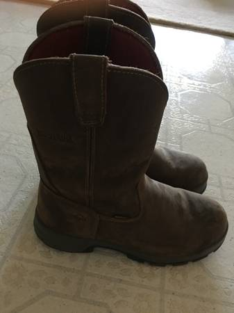 Photo Wolverine Leather Work Boots - $25 (Logansport)