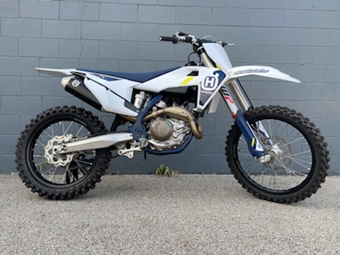 Photo Used 2022 Husqvarna Motorcycles Competition Motorcycle  $9765