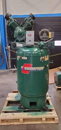 Photo 120 gal Vertical Compressor - $1,800 (East Wenatchee, WA)