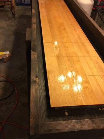 Photo 12 ft shuffleboard table - New - $435 (West Richland)