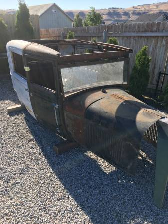 Photo 1928-29 Model A 2 dr Ford Body - $2,500 (Kennewick,WA)
