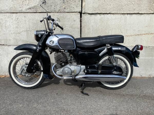 Photo 1963 Honda Benley CA95 - $3,500 (RICHLAND)