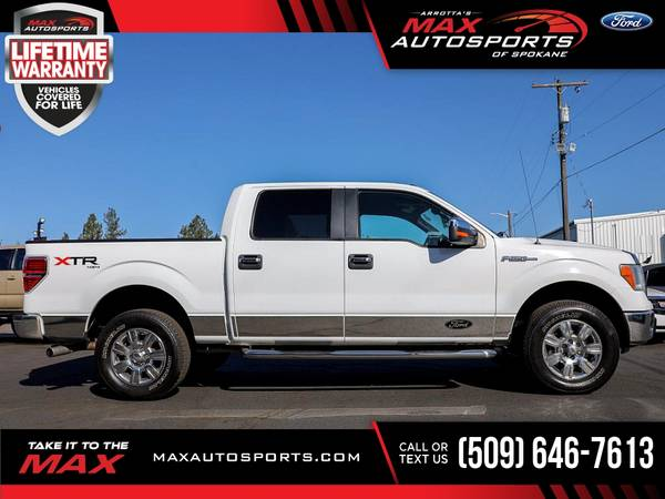 Photo 2012 Ford F-150 FX4 Pickup with 104,984 original miles - $23,980 (Max Autosports of Spokane)