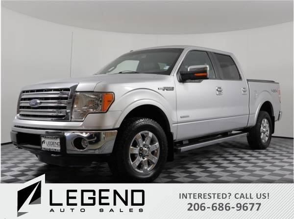 Photo 2013 Ford F-150 Truck F150 Lariat Pickup 4D 5 12 ft Ford F 150 - $22900 (Call us at (509) 321-4669)