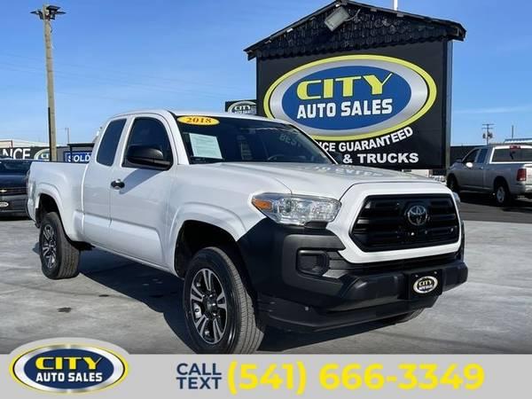 Photo 2018 Toyota Tacoma SR Pickup 4D 6 ft - $22,000 (_Toyota_ _Tacoma_ _Truck_)