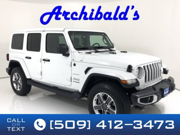 Photo 2019 Jeep Wrangler Unlimited Unlimited Sahara - $36300 (Call or Text today (509)-412-3473)
