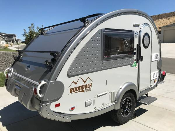 Photo 2019 NuC TAB 320 S Boondock Edge teardrop travel trailer - $22,000 (Kennewick)