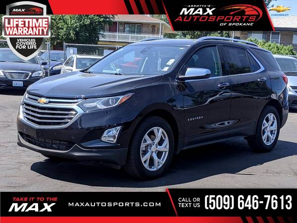 Photo 2020 Chevrolet Equinox Premier with ONLY 16,015 Miles - $33,999 (Max Autosports of Spokane)
