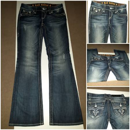 Photo Beautiful New ROCK REVIVAL Jeans Size 28 - $80