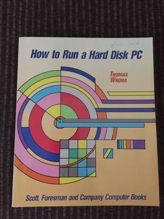 Photo Book How to Run a Hard Disk - $225 (South Kennewick)