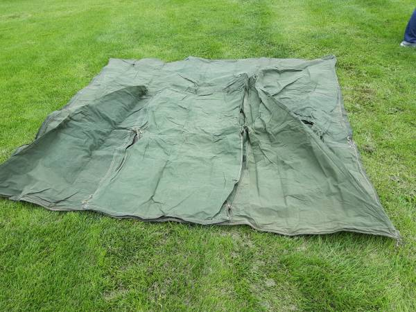 Photo Canvas Tent 8x8 with foor - $120 (Kennewick)
