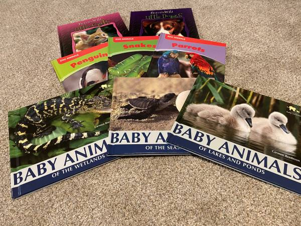 Photo Childrens Animal Books for Sale - $20 (College Place)