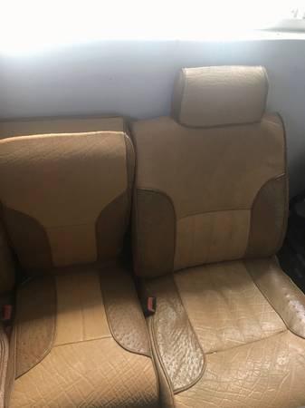 Photo DODGE RAM 94-97 crew cab seats. REAL ostrage and elephant leather - $1,500 (Kennewick)