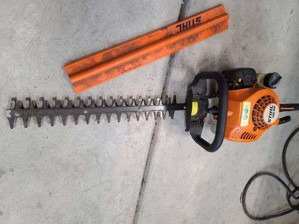 Photo Gas Stihl HS45 hedge trimmer (awesome condition)(possible trade) - $200 (benton city)