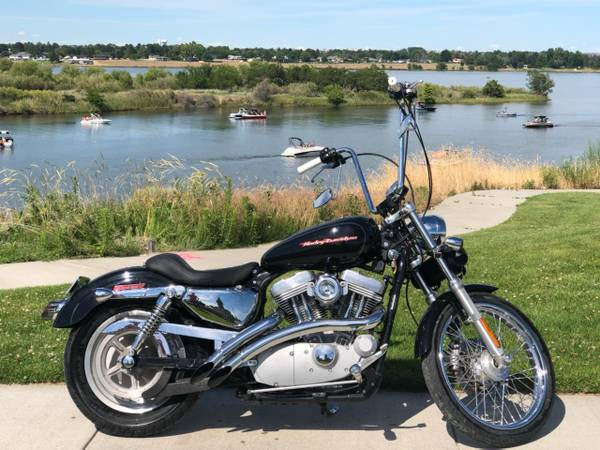 Photo Harley Davidson 883 Comes with many Extra Parts to Customize to your - $5,500 (Apex Motor Sales Columbia Center Blvd  Columbia Park Trail)