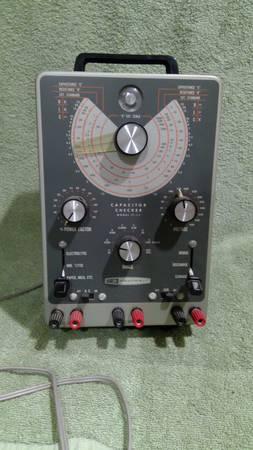 Photo Heathkit Capacitor Checker - $250