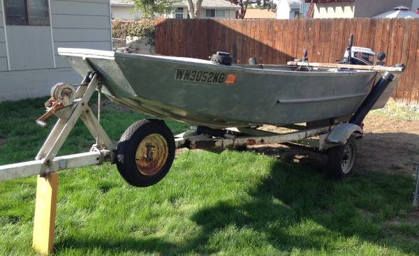 Photo Hewes craft river runner 1439 - $1,500 (Richland)
